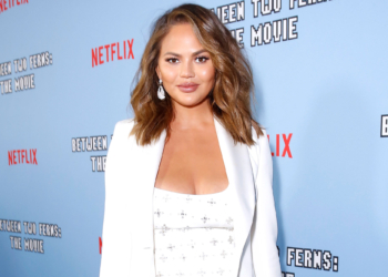 """LOS ANGELES, CALIFORNIA - SEPTEMBER 16: Chrissy Teigen attends Netflix's special screening of """"Between Two Ferns: The Movie"""" on September 16, 2019 in Los Angeles, California. (Photo by Rachel Murray/Getty Images for Netflix)"""