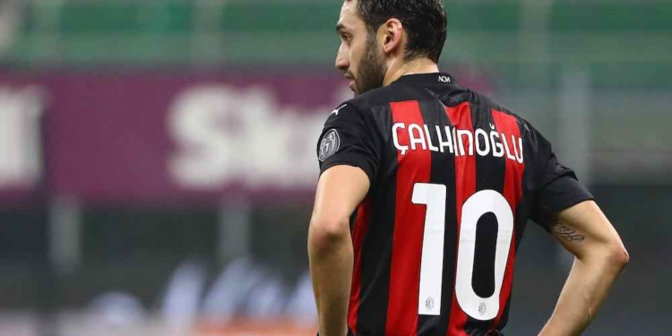 during the Serie A match between AC Milan and Parma Calcio at Stadio Giuseppe Meazza on December 13, 2020 in Milan, Italy.